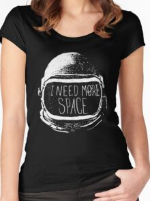 I Need More Space Women's Fitted Scoop T-Shirt