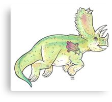 Playful Pentaceratops Canvas Print