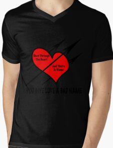 You Give Love A Bad Name Mens V-Neck T-Shirt