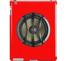 All about the Bass - Super Extreme Sound - Music T-Shirt -Sexy Red Speaker iPad Case/Skin