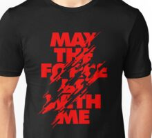 May the Force Funny Men's Tshirt Unisex T-Shirt