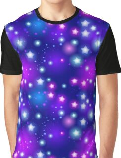 Stars pattern Graphic T-Shirt