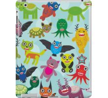 Cartoon monsters iPad Case/Skin
