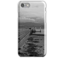 GOING DOWN THE PIER iPhone Case/Skin
