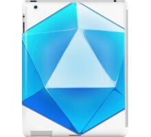 Blue D20 Dice iPad Case/Skin