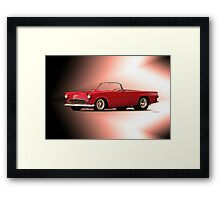 1956 Ford Thunderbird 'Street Machine' Framed Print