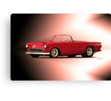 1956 Ford Thunderbird 'Street Machine' Canvas Print