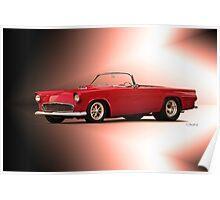 1956 Ford Thunderbird 'Street Machine' Poster