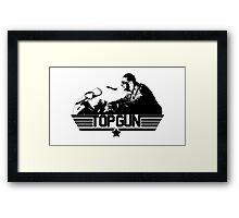 Top Gun Tribute Framed Print