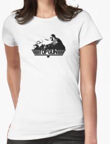 Top Gun Tribute Womens Fitted T-Shirt