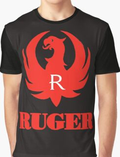 ruger red logo Graphic T-Shirt