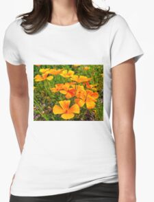 Popping Up And Popping Out Womens Fitted T-Shirt