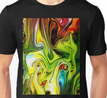 abstract painting for graphic design and illustration Unisex T-Shirt