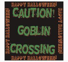 Caution Goblin Crossing One Piece - Short Sleeve