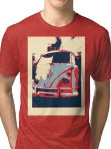 Retro split screen Tri-blend T-Shirt