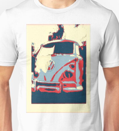 Retro split screen Unisex T-Shirt