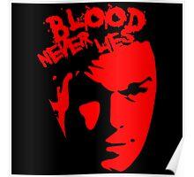 Blood never Lie Dexter Poster