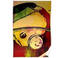 Colour bomb bus Poster