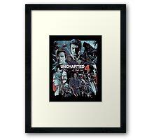 Uncharted 4 [4K] Framed Print