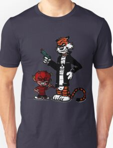 Calvin and Hobbes Gangsta T-Shirt