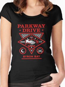 Parkway drive Funny Men's Tshirt Women's Fitted Scoop T-Shirt