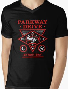 Parkway drive Funny Men's Tshirt Mens V-Neck T-Shirt
