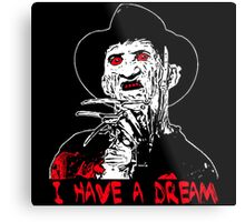I Have a Dream Zombie  Metal Print