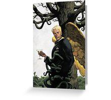 Lucifer comics Greeting Card
