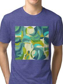 green abstraction Tri-blend T-Shirt