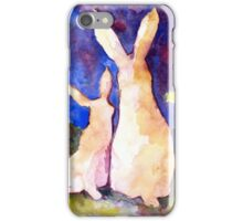 Easter Rabbits iPhone Case/Skin