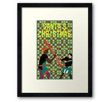 Santa's Christmas Feature Film Official Poster Framed Print