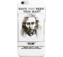 Twin Peaks - BOB! iPhone Case/Skin