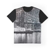 Urban-Art NYC Brooklyn Bridge III Graphic T-Shirt