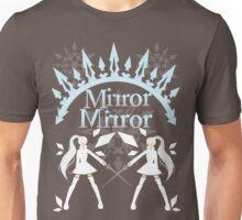 Mirror Mirrror Weiss Schnee Unisex T-Shirt