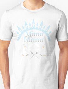 Mirror Mirrror Weiss Schnee T-Shirt