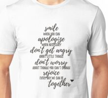 Rules of Our House Unisex T-Shirt