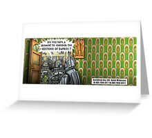 The Dalek Witness Greeting Card