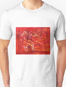 red salsa and trumpets Unisex T-Shirt