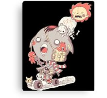 funny cartoon Canvas Print