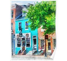 Baltimore MD - Neighborhood Pub Fells Point Poster