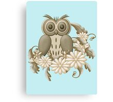 Mr Owl Canvas Print