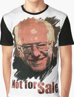 Bernie Sanders Not for Sale Graphic T-Shirt