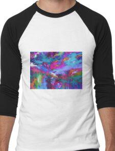 A fluid storm Men's Baseball ¾ T-Shirt