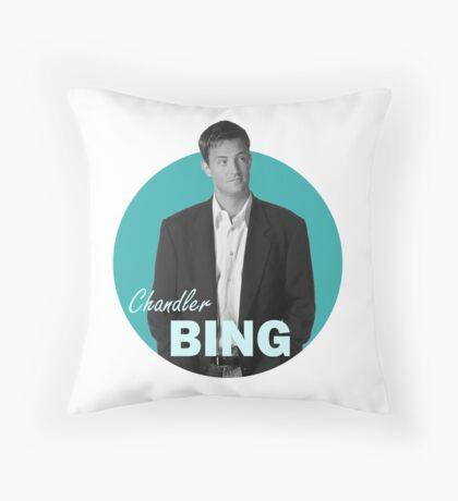Chandler Bing - Friends Throw Pillow