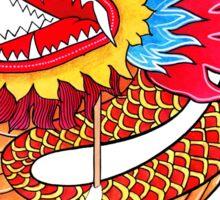The Dragon Dance Parade Sticker