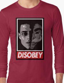 mr robot - disobey Long Sleeve T-Shirt