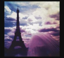 Eiffel Tower, Paris Kids Tee