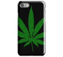 Weed Leaf with Weed Leaf Pattern for 420 iPhone Case/Skin