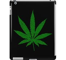 Weed Leaf with Weed Leaf Pattern for 420 iPad Case/Skin