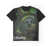 Vaporwave Liberty Graphic T-Shirt